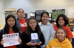 Robotics Team Awarded for Creativity