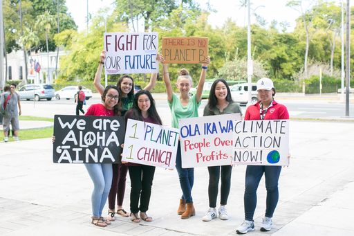 Students Demand Climate Action