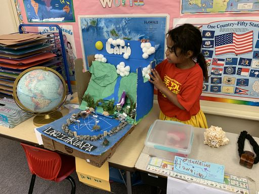 First Graders Celebrate Culture Day