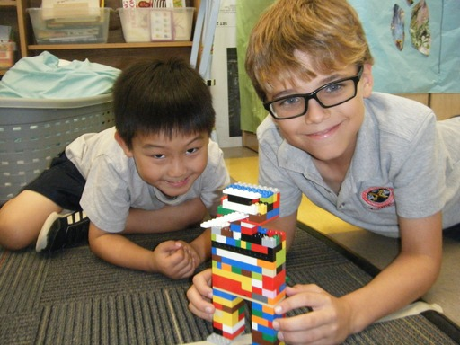 Book and Building Buddies at The Prep